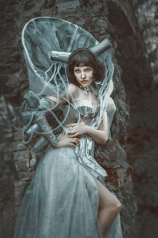 фентези, fineart Принцесса Трансформаторных Будокphoto preview