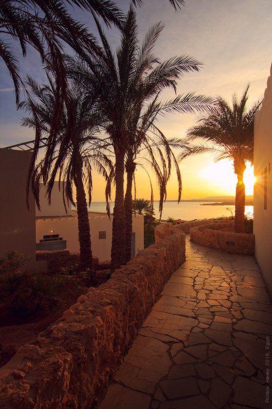 закат, Шарм-эш-Шейх, вечер, тепло, море, красное море,   Всем Тепла!photo preview