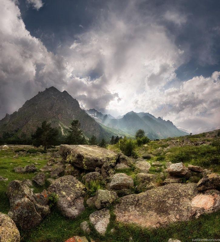 адыр-су, горы, уллу-тау, эльбрус Адыр-суphoto preview
