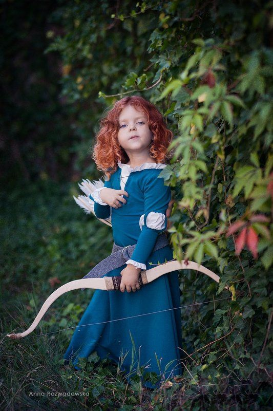 brave, merida, costume, cosplay Merida the Bravephoto preview