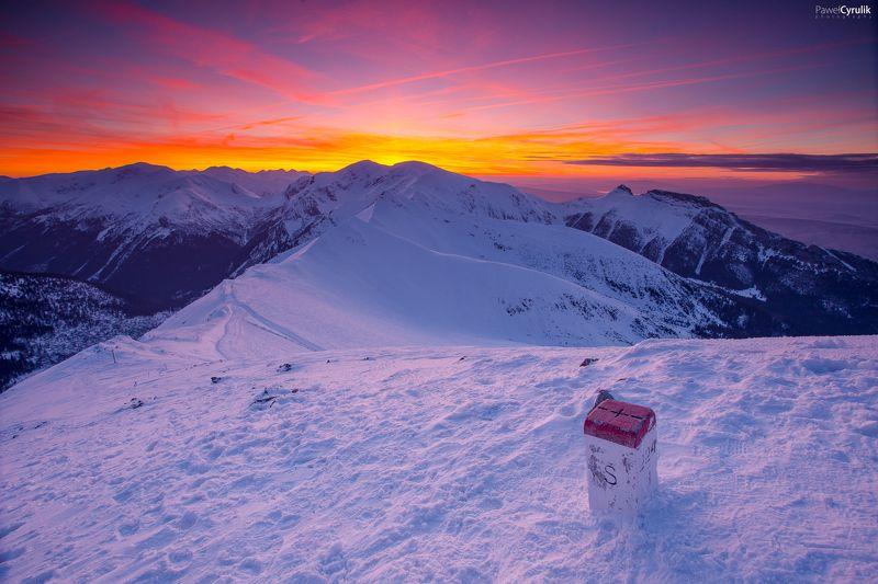 mountain, snow, winter Tatra Mountainphoto preview