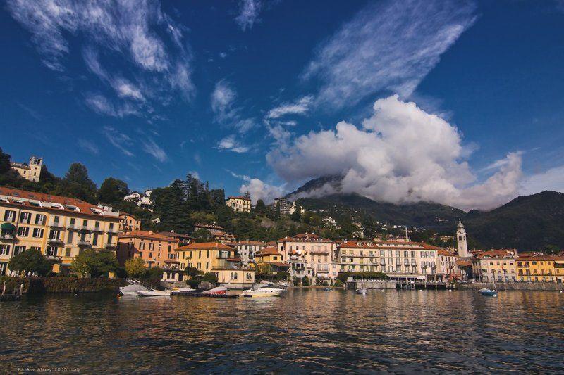 Италия, Альпы, горы, снег, Комо, городок, Менаджиоphoto preview