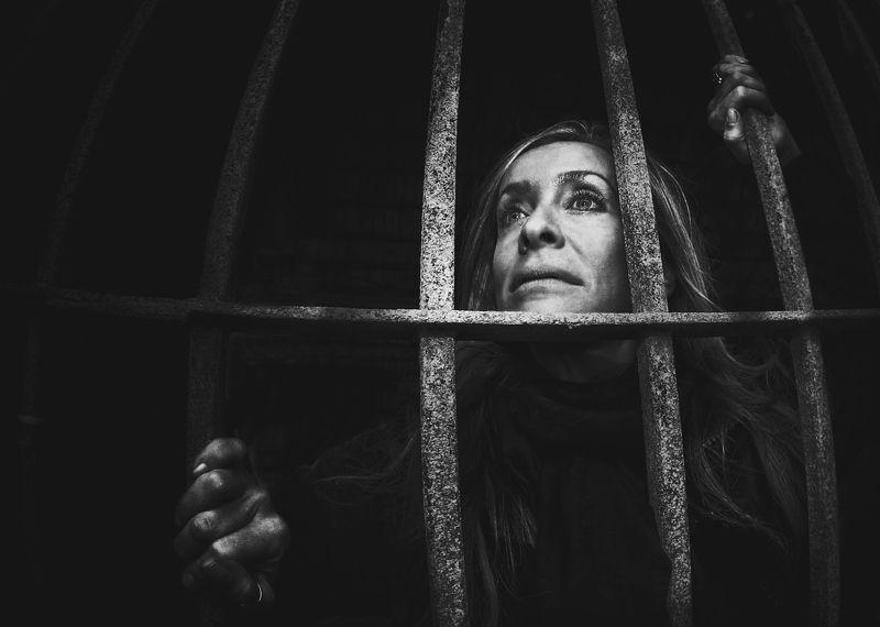 Портрет, лица, жанровый портрет, Roman Mordashev photography, Черно белая фотография Взгляд надеждыphoto preview