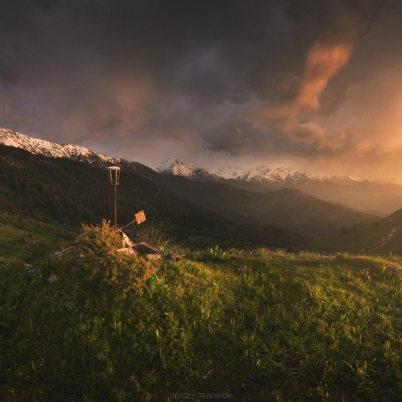 Закат на Кок-Жайляу.photo preview