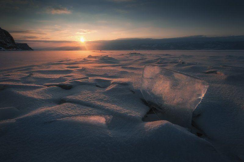 байкал Закат на Малом море…photo preview
