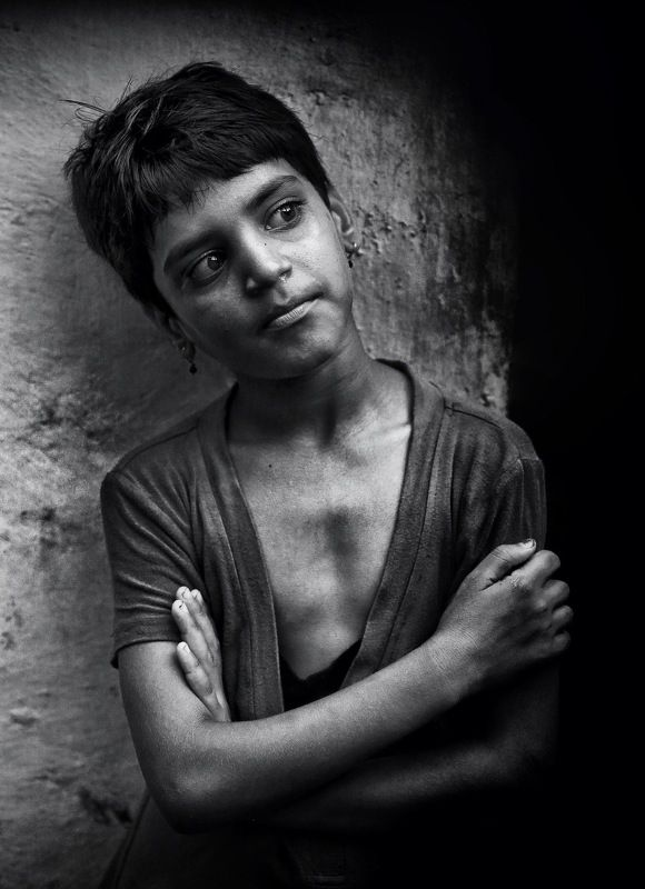Портрет, лица, жанровый портрет, Roman Mordashev photography, Черно белая фотография Взрослые дети…photo preview