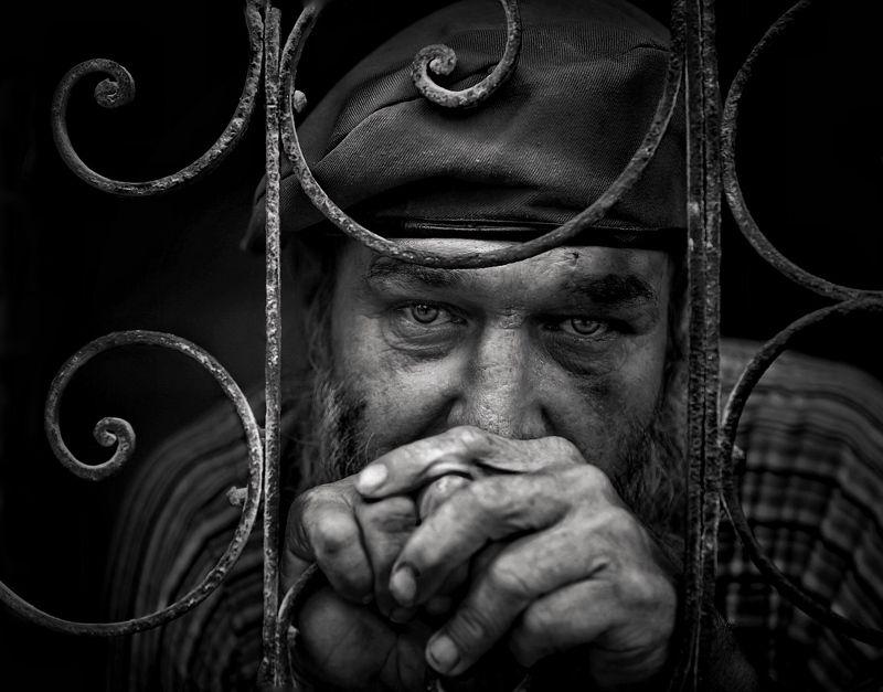Портрет, лица, жанровый портрет, Roman Mordashev photography, Черно белая фотография photo preview