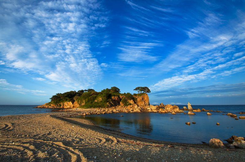 Морской заповедник, Приморье, Приморский край, море, острова Орлиные островаphoto preview