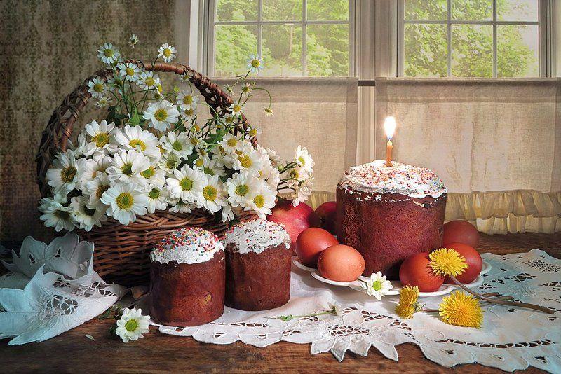 пасха,праздник,яйца,верба,корзина,салфетка Со Светлой Пасхой!photo preview