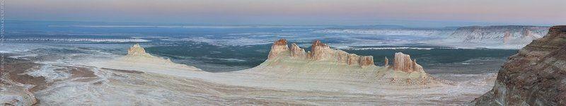 пейзаж, панорама, ландшафт, необычный, Казахстан, Бозжира, landscape, panorama Подводная лодка / Submarinephoto preview