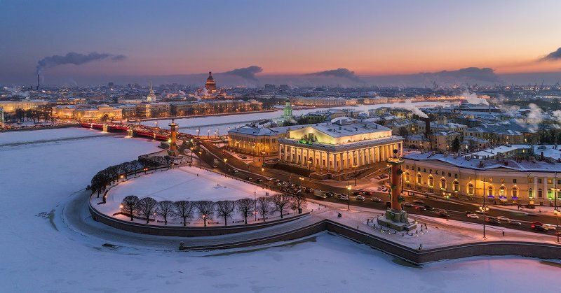 санкт-петербург Вечерний Петербург. Стрелка В.О.photo preview