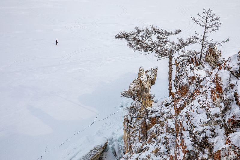 Байкал, лед, Ольхон Противостояниеphoto preview