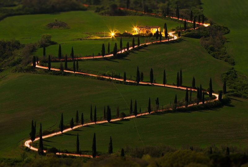тоскана Ночные гонки по Тосканеphoto preview