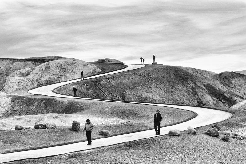 Путешествие, пейзаж,  Zabriskie Point photo preview