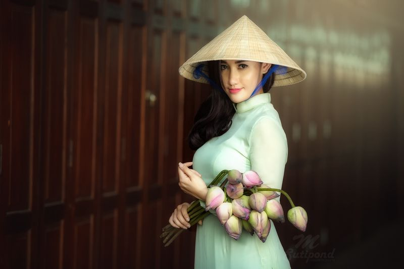 vietnam,portrait,women,asia women,smiling, Vietnamese Portrait photo preview