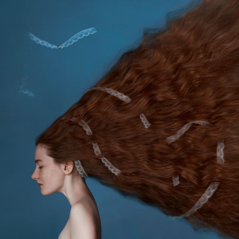 арт, портрет, девушка Infinitophoto preview