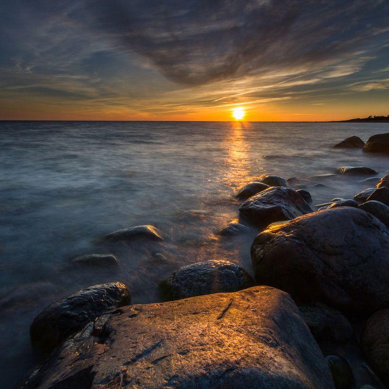 hiiumaa,seascapes Hiiumaa sunsetphoto preview
