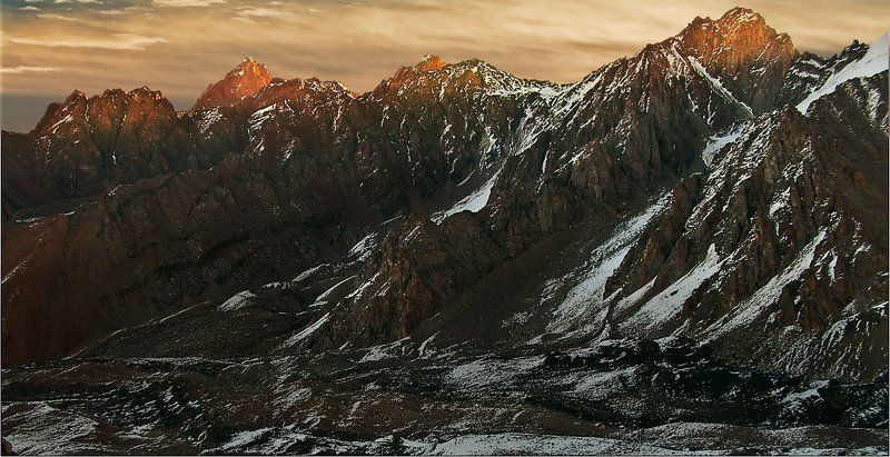 северный, заилийский, алатау На восходеphoto preview
