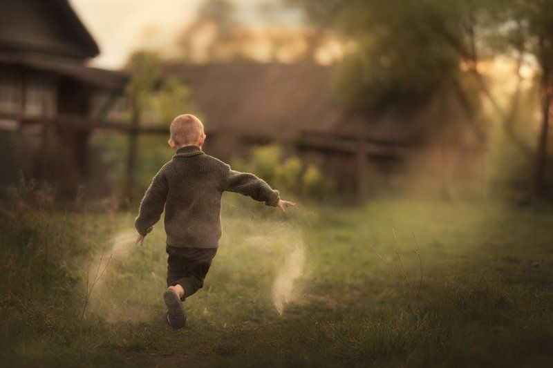 дети, деревня, детство деревенское детствоphoto preview
