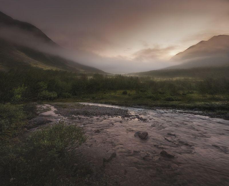 Хибины, Khibiny, North, Кольский Север, закат. северная природаКак хорошо  Умиротворениеphoto preview