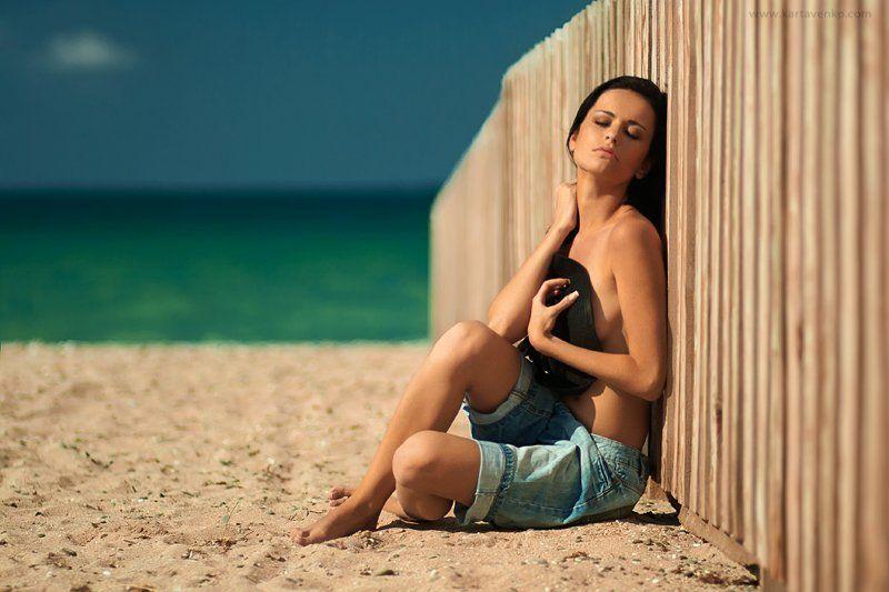 девушка,  лето,  море,  зной , время , жара , релакс summer timephoto preview