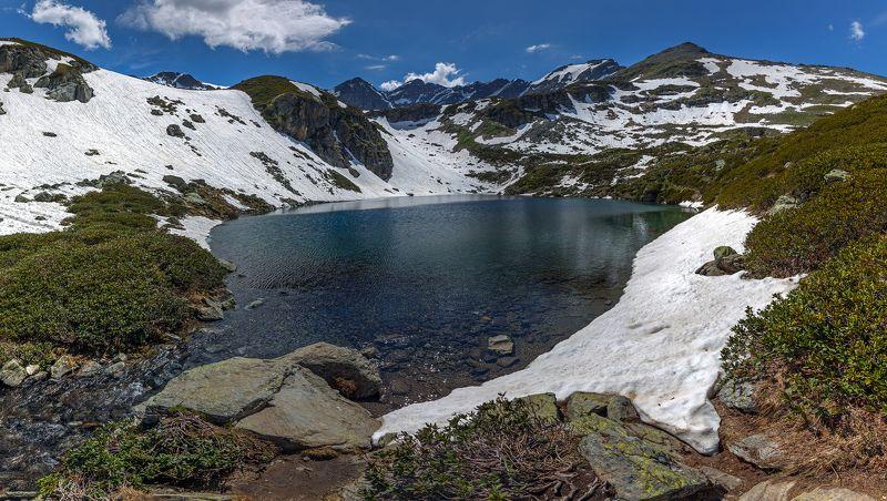 карачаево-черкесия ,кчр ,горы,дуккинские озеро,архыз Дуккинское озеро ...photo preview