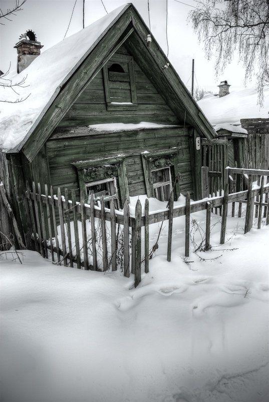 дом, домик, избушка, снег, зима Слепенькаяphoto preview
