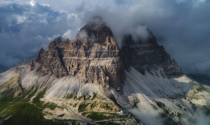 dolomites, italy Tre Cime di Lavaredophoto preview