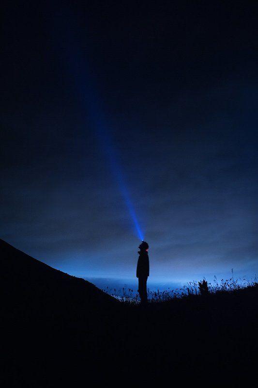 фото, мужчина, свет, ночь, небо, фонарь, photo, light, man, sky, night, canon  Lightphoto preview
