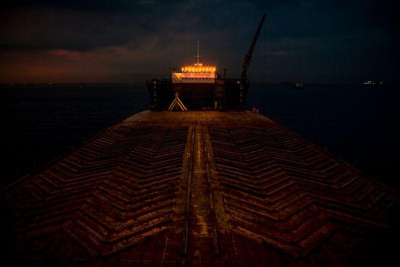 судно пароход море океан груз  Trgetphoto preview