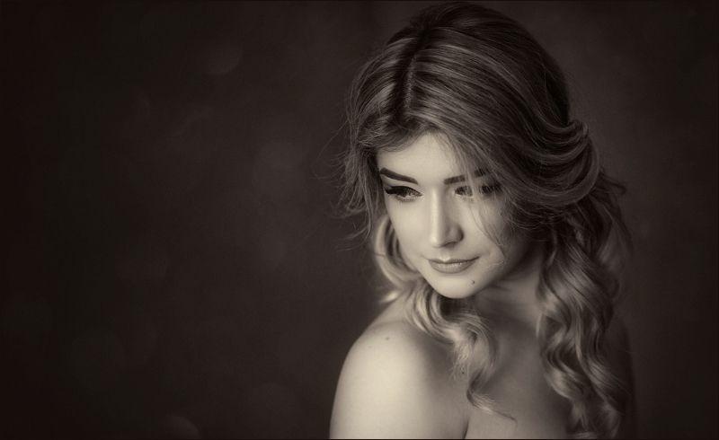 портрет, невеста, монохром ---= Ann =---photo preview