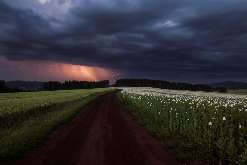 storm, landscapes, cloudy Highway to Hell...photo preview