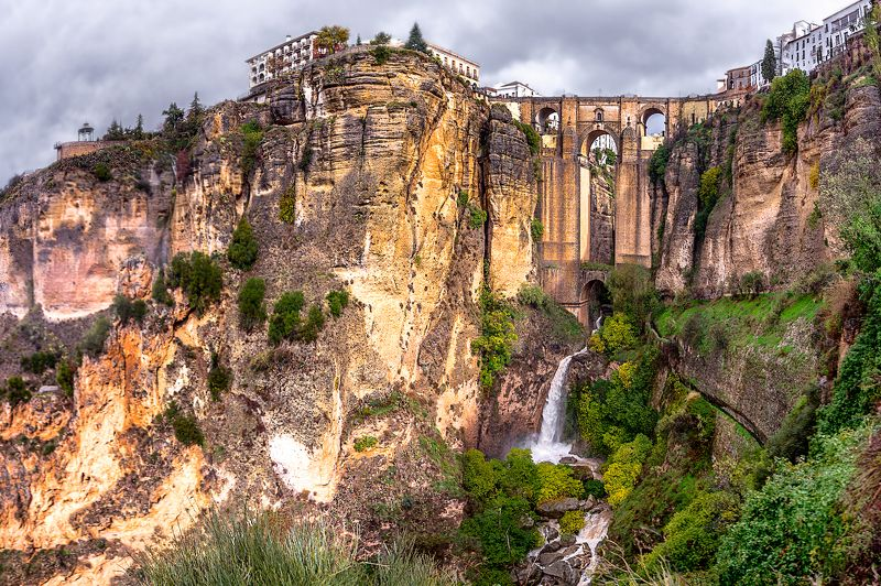 пуэнте-нуэво, ронда, испания, puente nuevo , ronda, spain, new bridge, Пуэнте-Нуэво (Ронда)photo preview