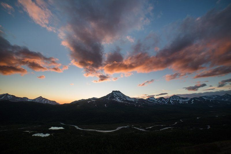 манарага, приполярный урал, урал, горы, закат Манарагаphoto preview