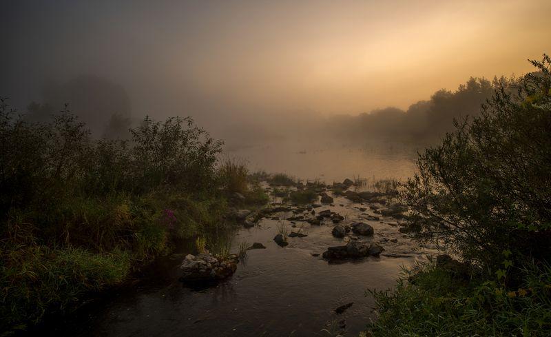 Рассвет на реке Случphoto preview