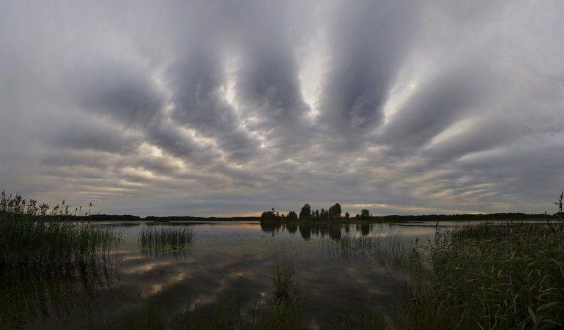 вуокса, закат, остров ***photo preview