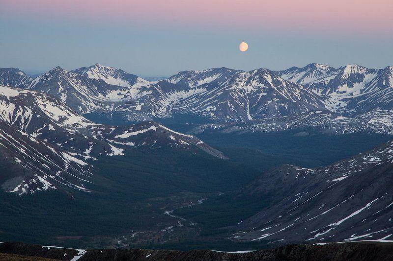 приполярный урал, урал, горы, закат photo preview