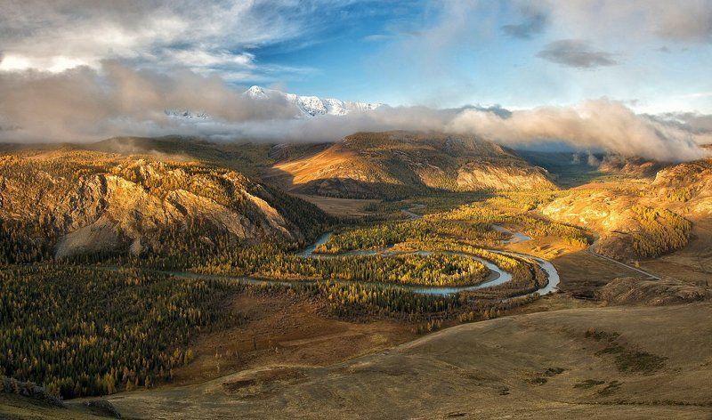 россия, горный алтай, курай, курайская степь, северо-чуйский хребет, пейзаж, толмачев дмитрий, на Курайских холмахphoto preview