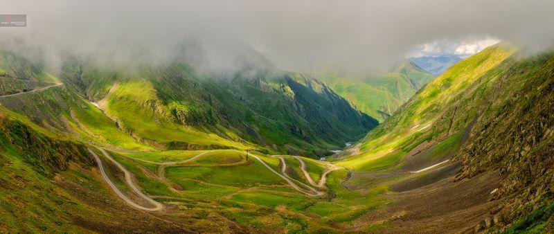 Грузия, Тушети, Перевал, Природа , Пейзаж, Дорогая Дорога в Тушетиphoto preview