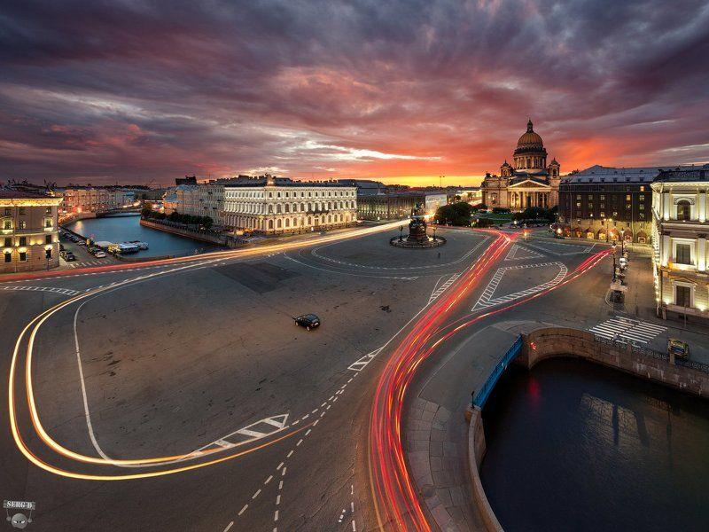 Синий мост, Исаакиевская площадь, Мойкаphoto preview