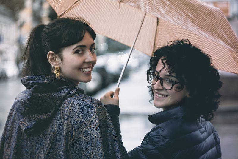 девушки, итальянки, портрет с зонтиком, alex pertli Итальянки в Россииphoto preview