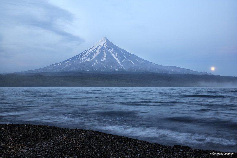 кроноцкий вулкан, кроноцкое озеро, камчатка, Заповедная территорияphoto preview
