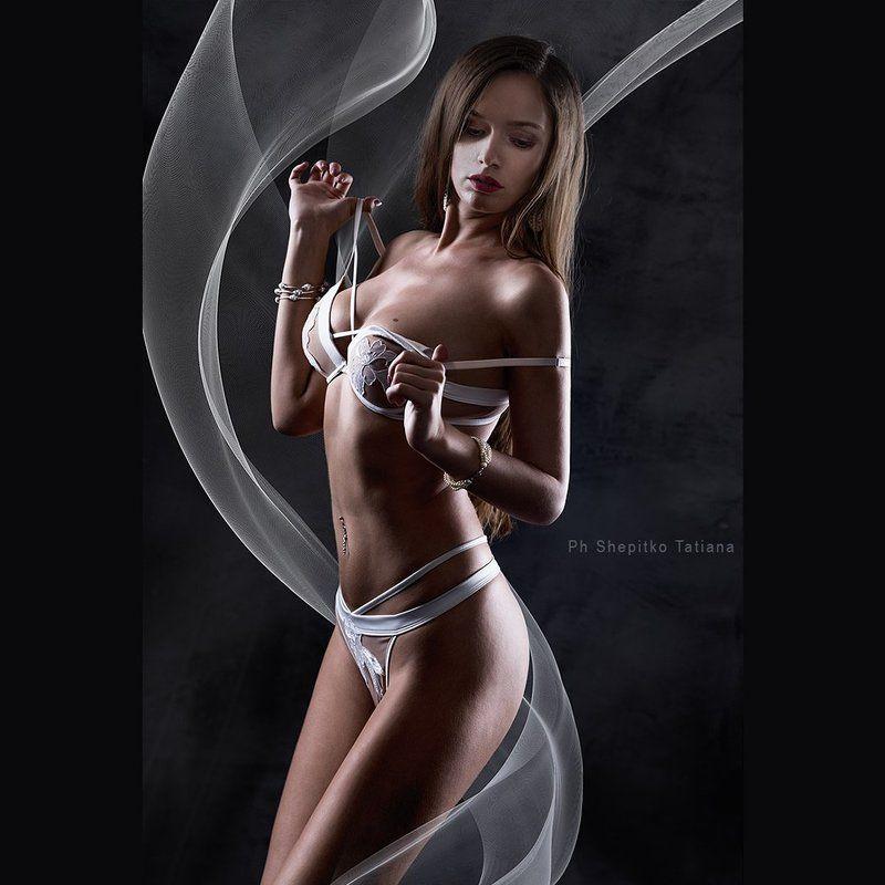 шепитько shepitko девушка girl будуар красота lingerie нижнее белье ткань волны ***photo preview