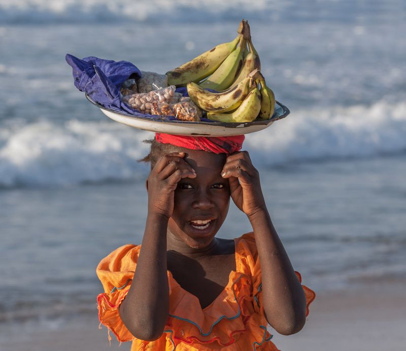 africa, child, seller, fruit, sellerphoto preview