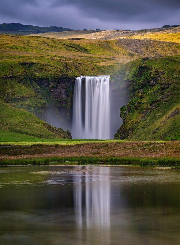 исландия, iceland, skogafoss, водопад Водопад Скоугафосс.photo preview