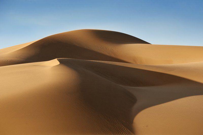 песок, монголия Свет, ветер и песокphoto preview