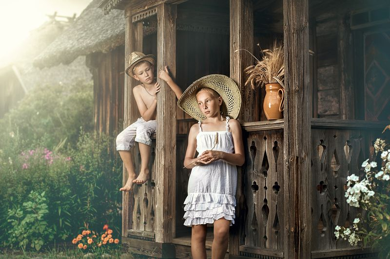 Country childrenphoto preview