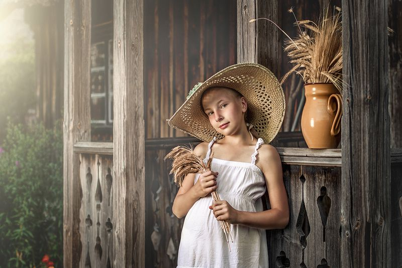 Country girl photo preview