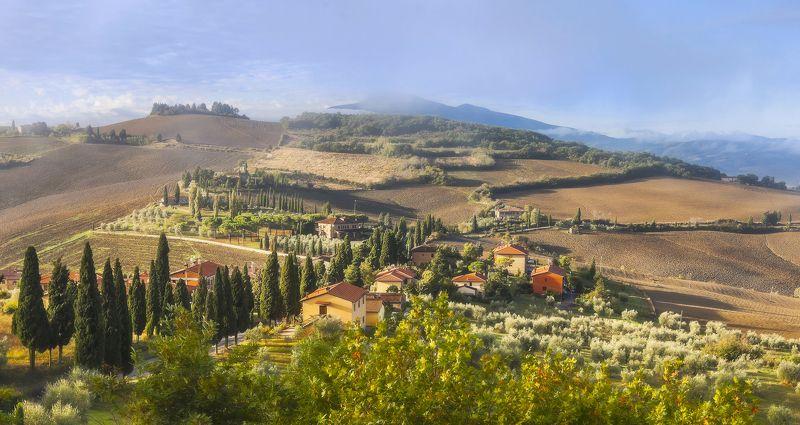тоскана, осень, tuscany, italy Осень в Тосканеphoto preview