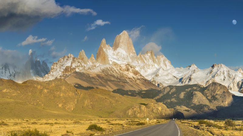фицрой, патагония, аргентина, fitz roy, patagonia Дорога на Фицройphoto preview